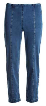 LauRie GUSTI 7/8 Jeans RACHEL, MEDIUM BLUE DENIM, pasform REGULAR, model 24462.
