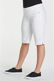 LauRie HALEY shorts i farven Hvid, pasform REGULAR, 32 cm. model Savannah