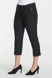 Laurie EMMA SANNA Capri jeans SORT, pasform SLIM, model 29941.