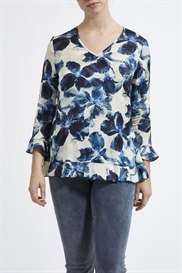 Laurie bluse i smukt blomsterprint, model Rozelle