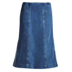 LauRie Gusti medium MEDIUM BLUE DENIM nederdel, model 54412.