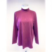 Handberg bordeaux Turtle Neck T-shirt